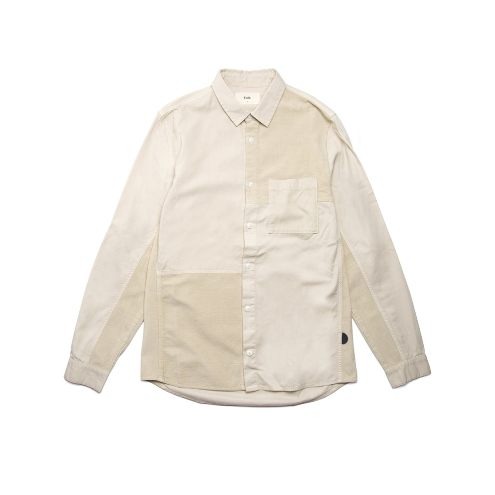 Folk Fraction Shirt (Stone)