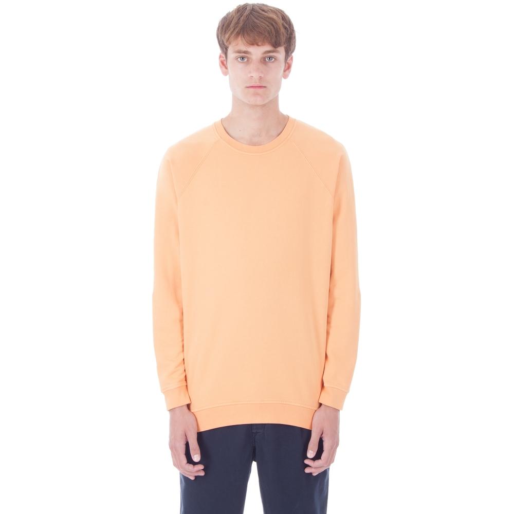Folk Rivet Crew Neck Sweatshirt (Bitter Orange)