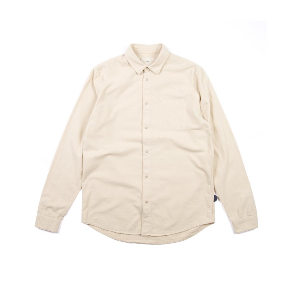Folk Stitch Pocket Shirt (Sand)