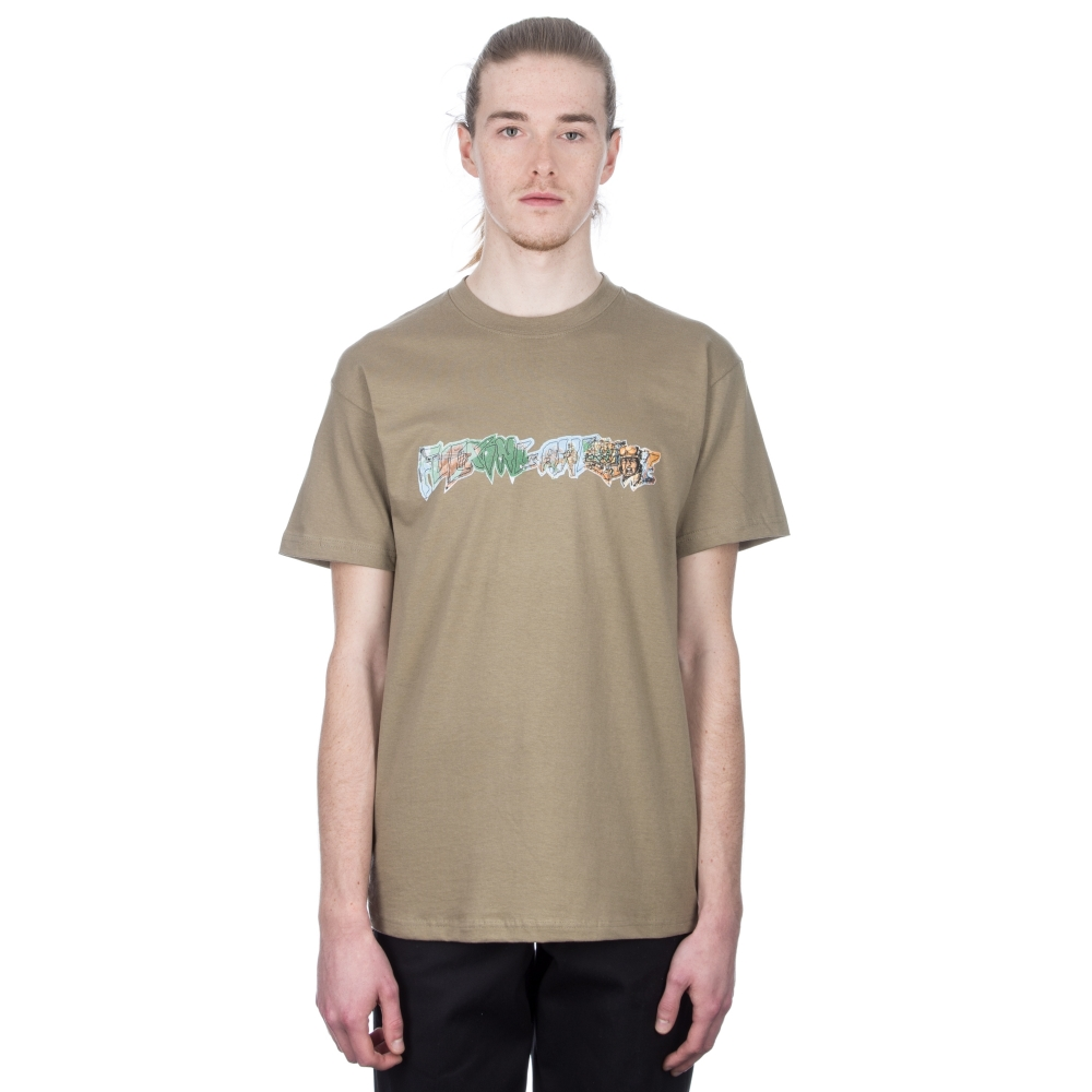 Fucking Awesome Battlefield T-Shirt (Brown)