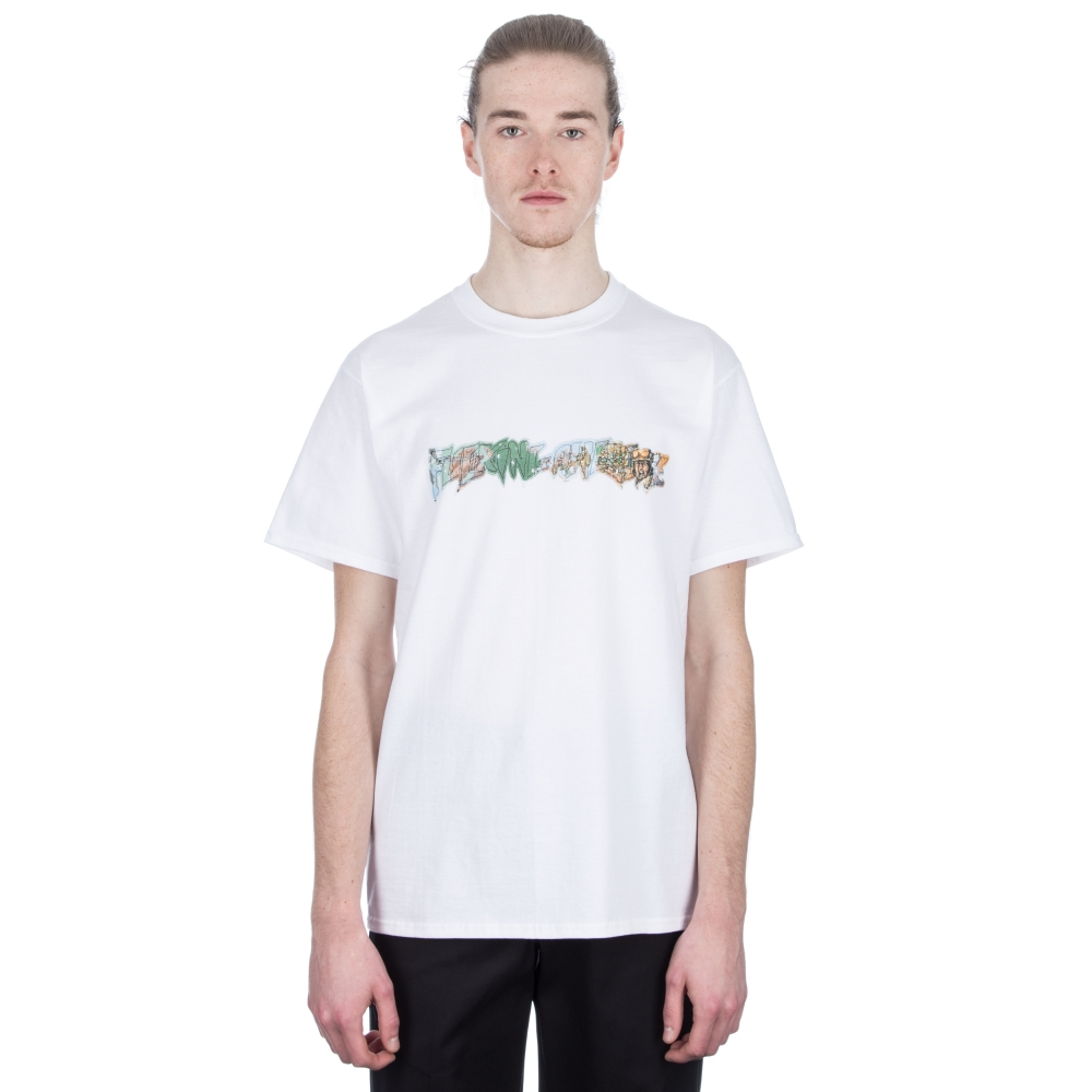 Fucking Awesome Battlefield T-Shirt (White)