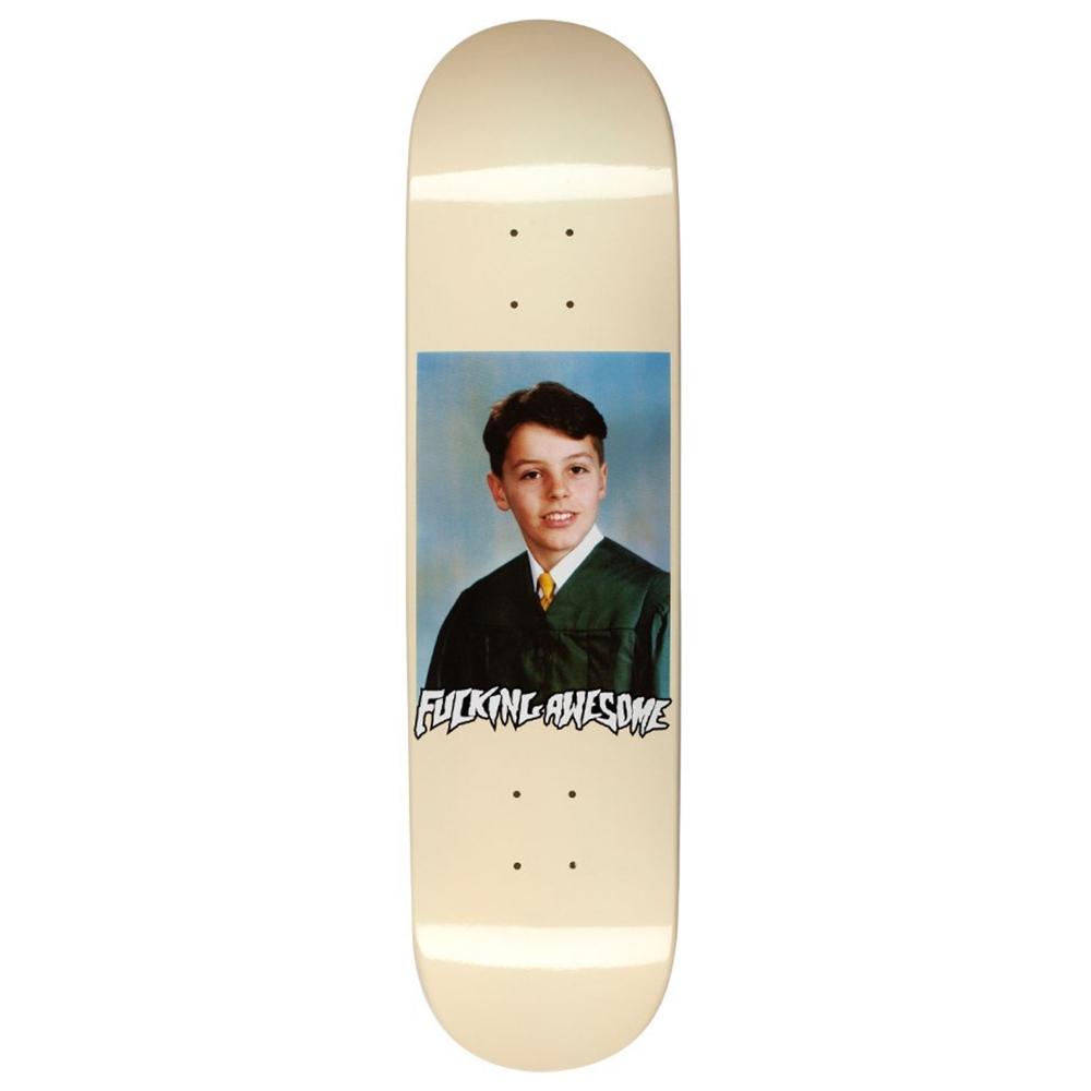 "Fucking Awesome Gino Class Photo Skateboard Deck 8.18"" (Cream)"
