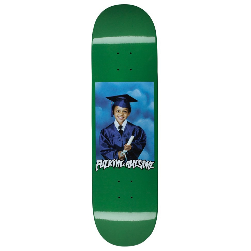 "Fucking Awesome KB Class Photo Skateboard Deck 8.5"" (Green)"