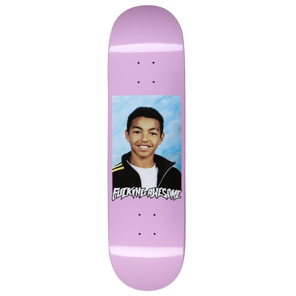 """Fucking Awesome Sage Class Photo Skateboard Deck 8.38"""" (Lavender)"""