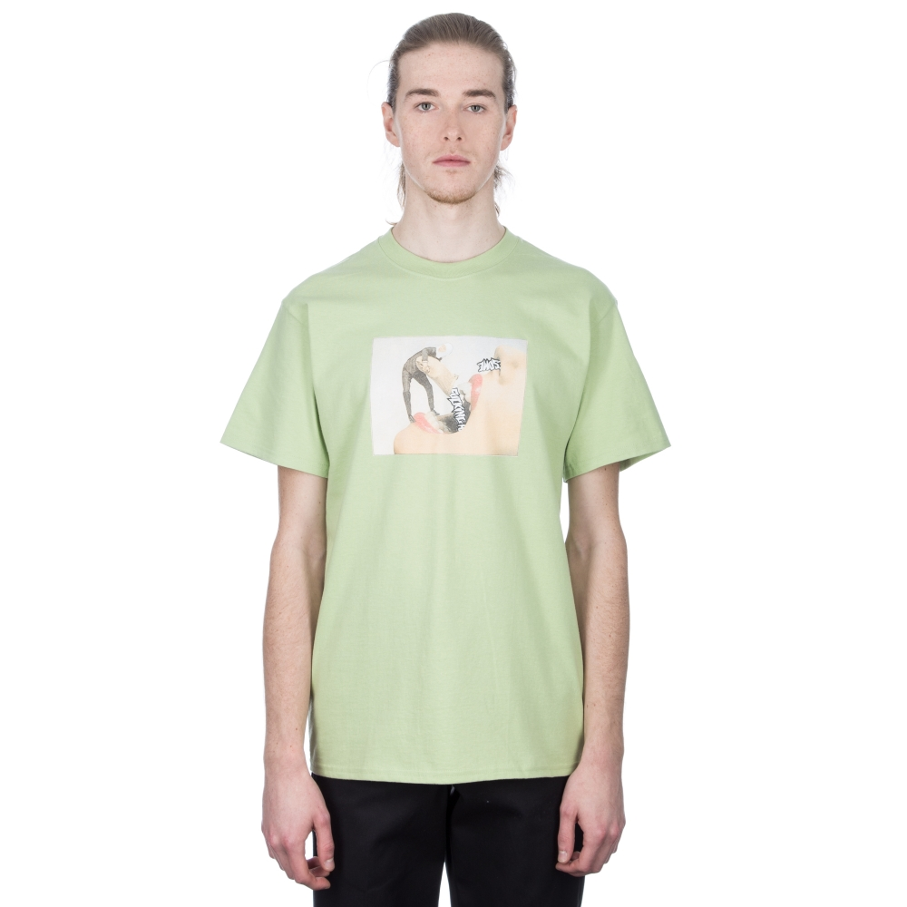Fucking Awesome Septum T-Shirt (Pistachio)