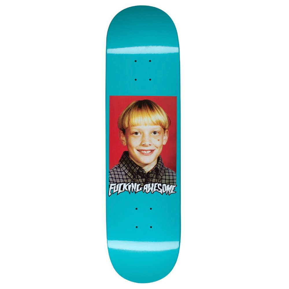 "Fucking Awesome Terp Class Photo Skateboard Deck 8.5"" (Turquoise)"