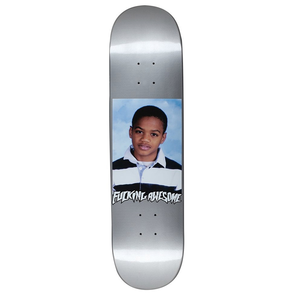 "Fucking Awesome Tyshawn Class Photo Skateboard Deck 8.18"" (Silver)"