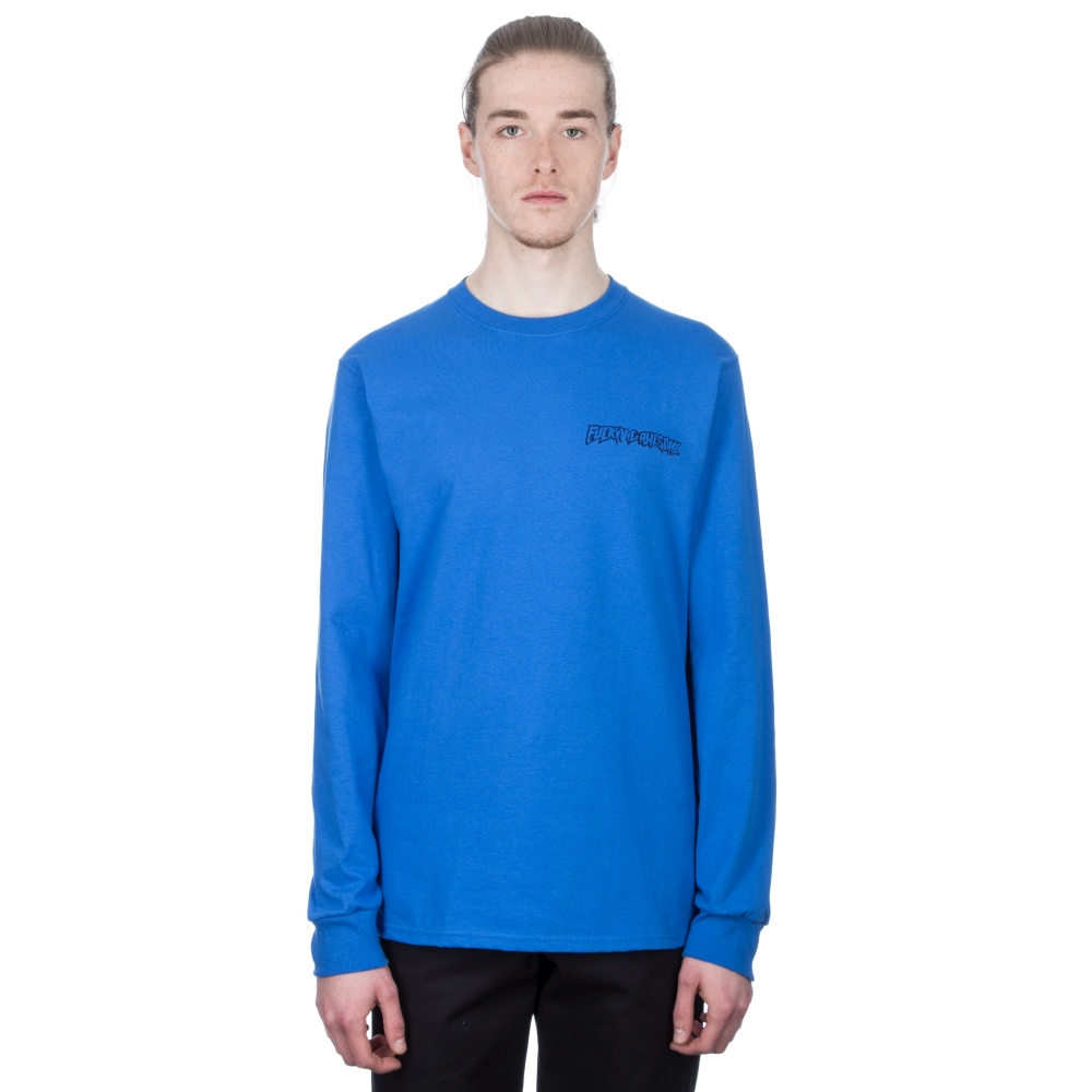 Fucking Awesome x Independent Hostage Long Sleeve T-Shirt (Blue)