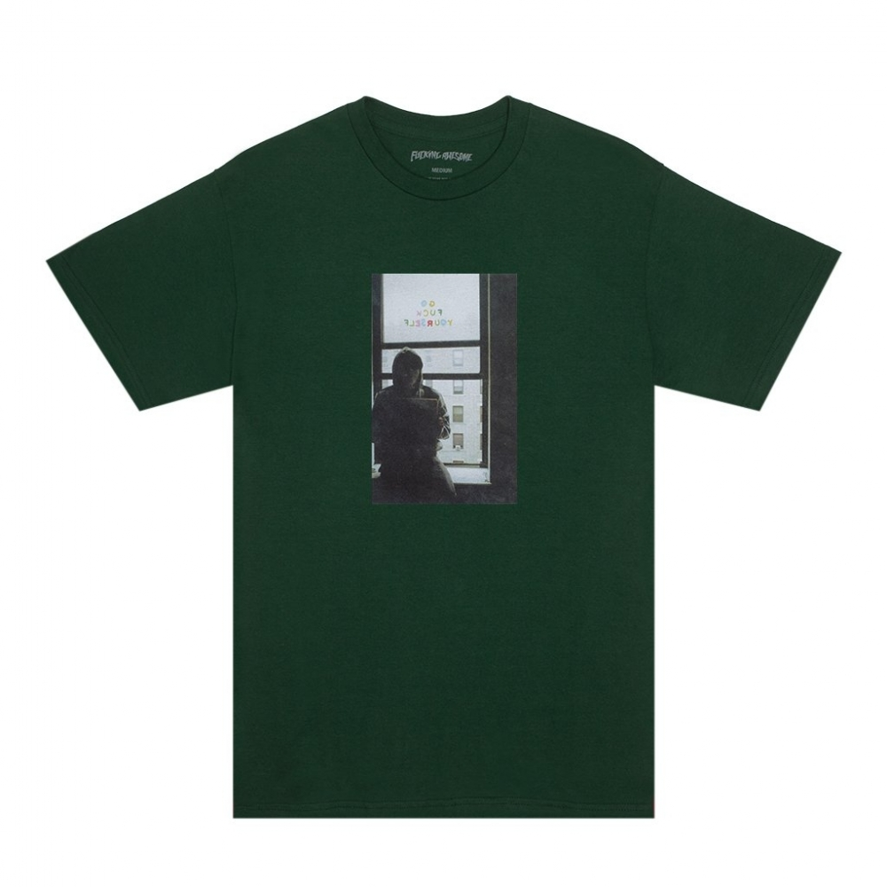 Fucking Awesome Go Fuck Yourself T-Shirt (Dark Green)