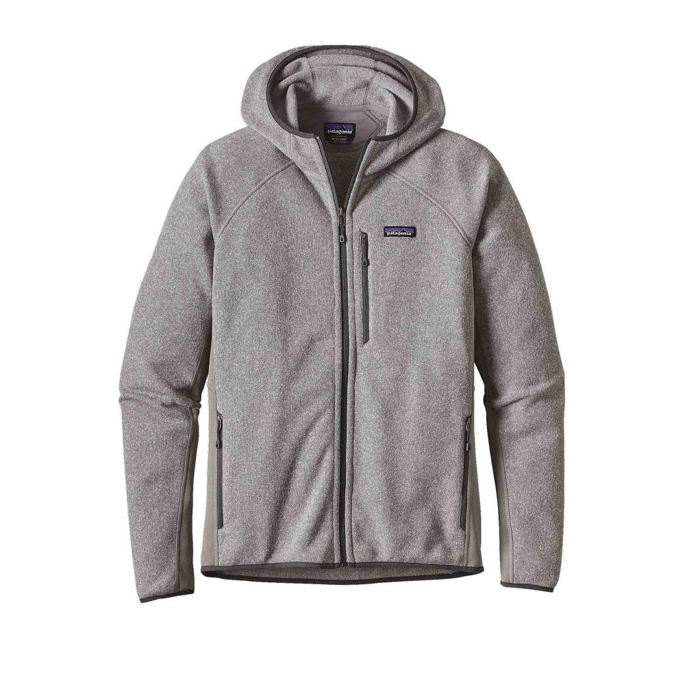 Patagonia Performance Better Sweater Fleece Full-Zip Hooded Sweatshirt (Feather Grey)