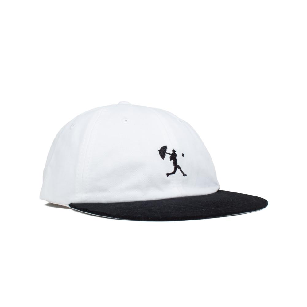 Hélas Baller 6 Panel Cap (White/Black)