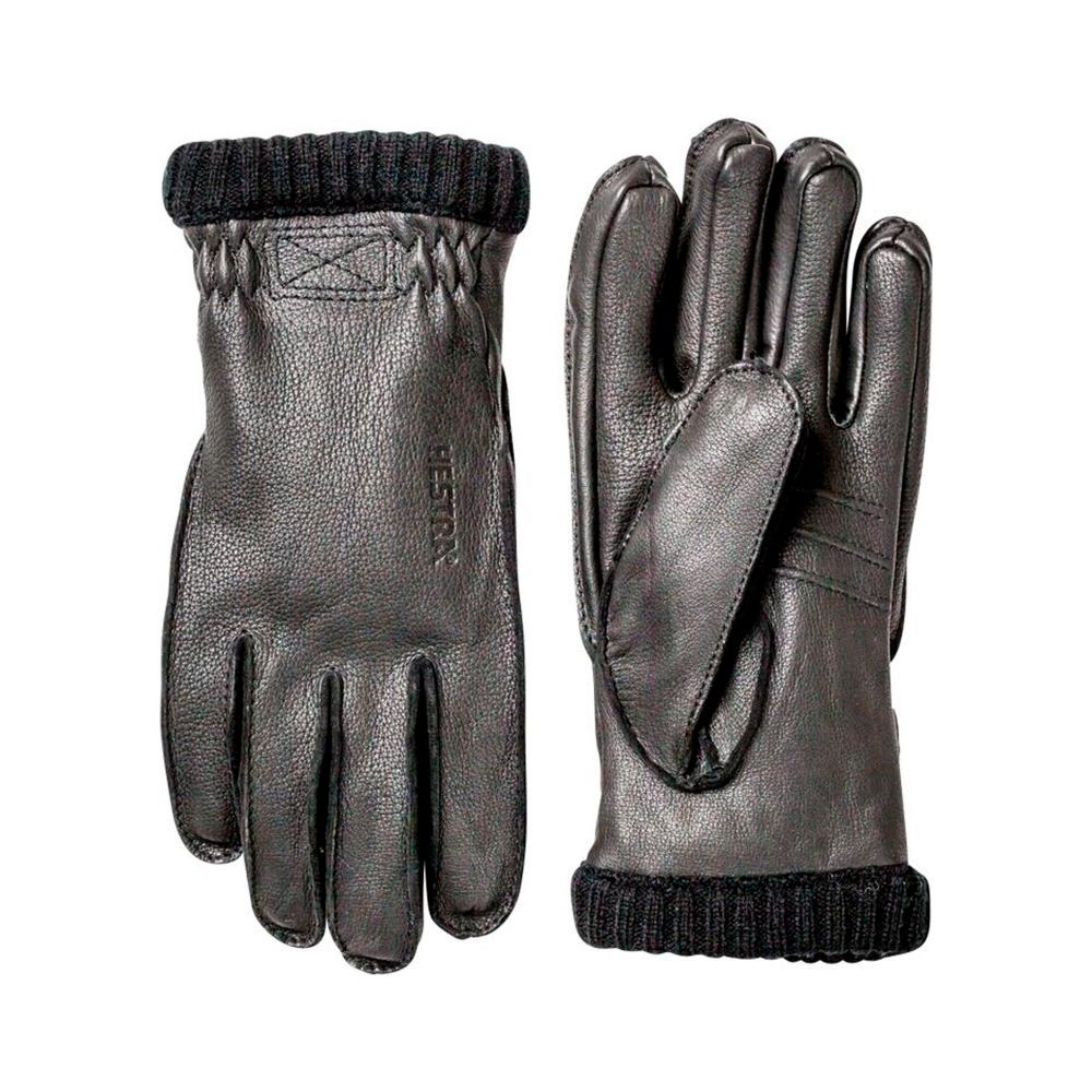 Hestra Deerskin Primaloft Rib Gloves (Black)