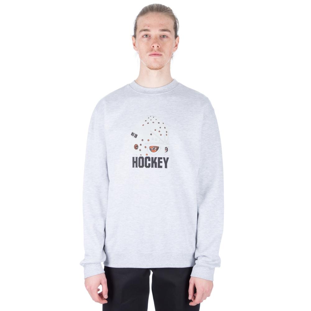 Hockey Mask Crew Neck Sweatshirt (Grey)