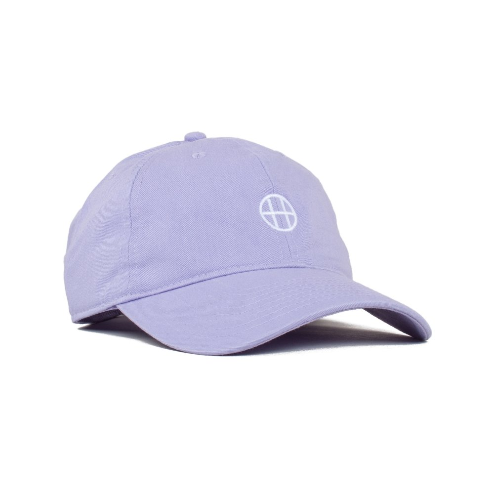 HUF Circle H Curved Brim Cap (Baby Purple)