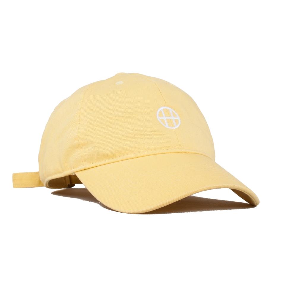 HUF Circle H Curved Brim Cap (Baby Yellow)