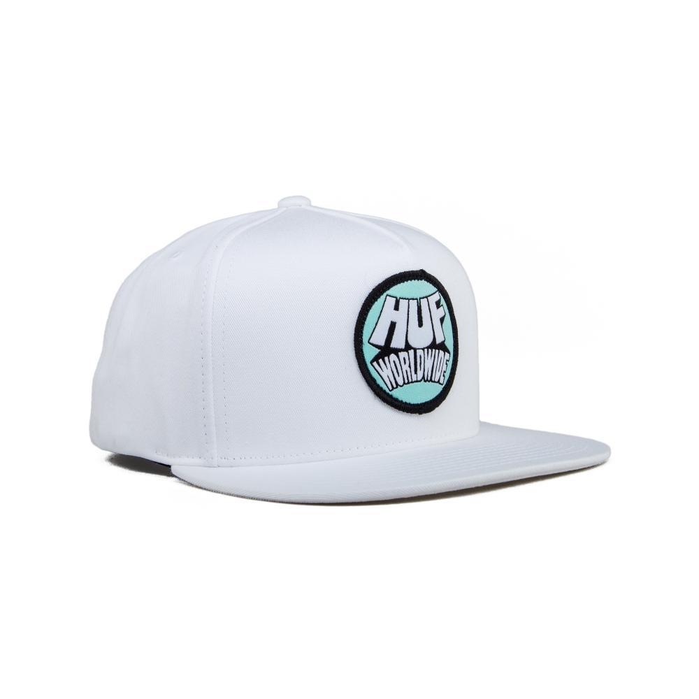 HUF Rhythm Snapback Cap (White)
