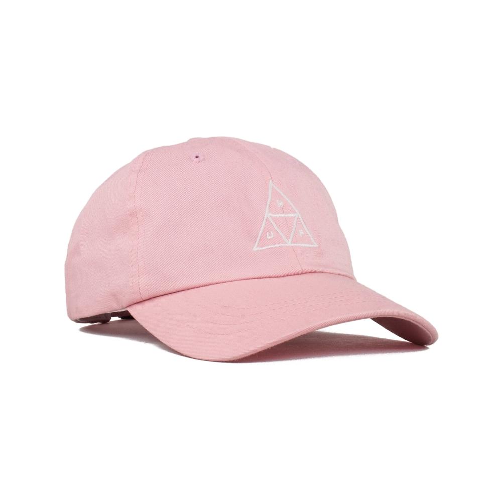 HUF Triple Triangle UV Curved Brim Cap (Pink)