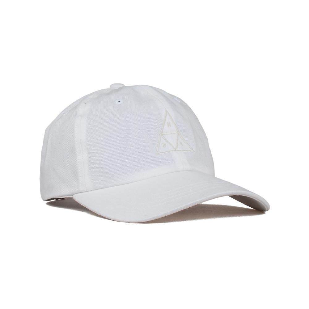 HUF Triple Triangle UV Curved Brim Cap (White)