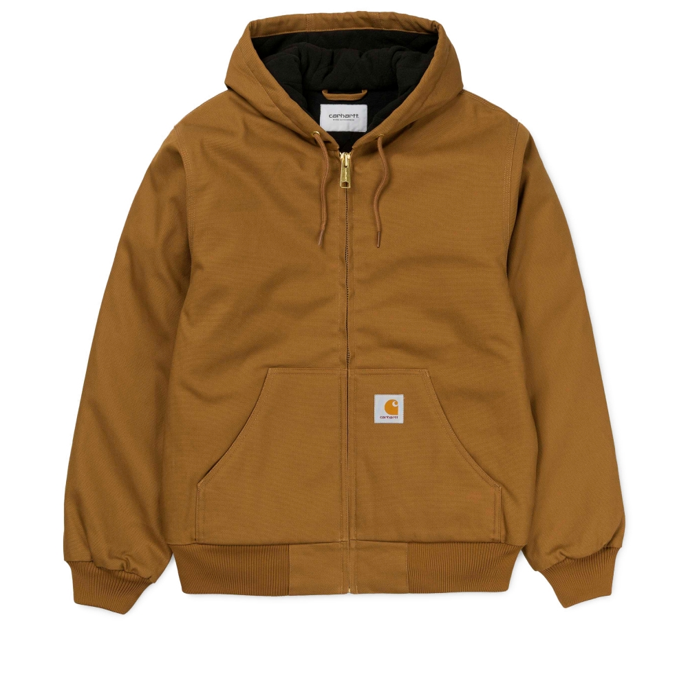 Carhartt Active Hooded Jacket (Hamilton Brown)