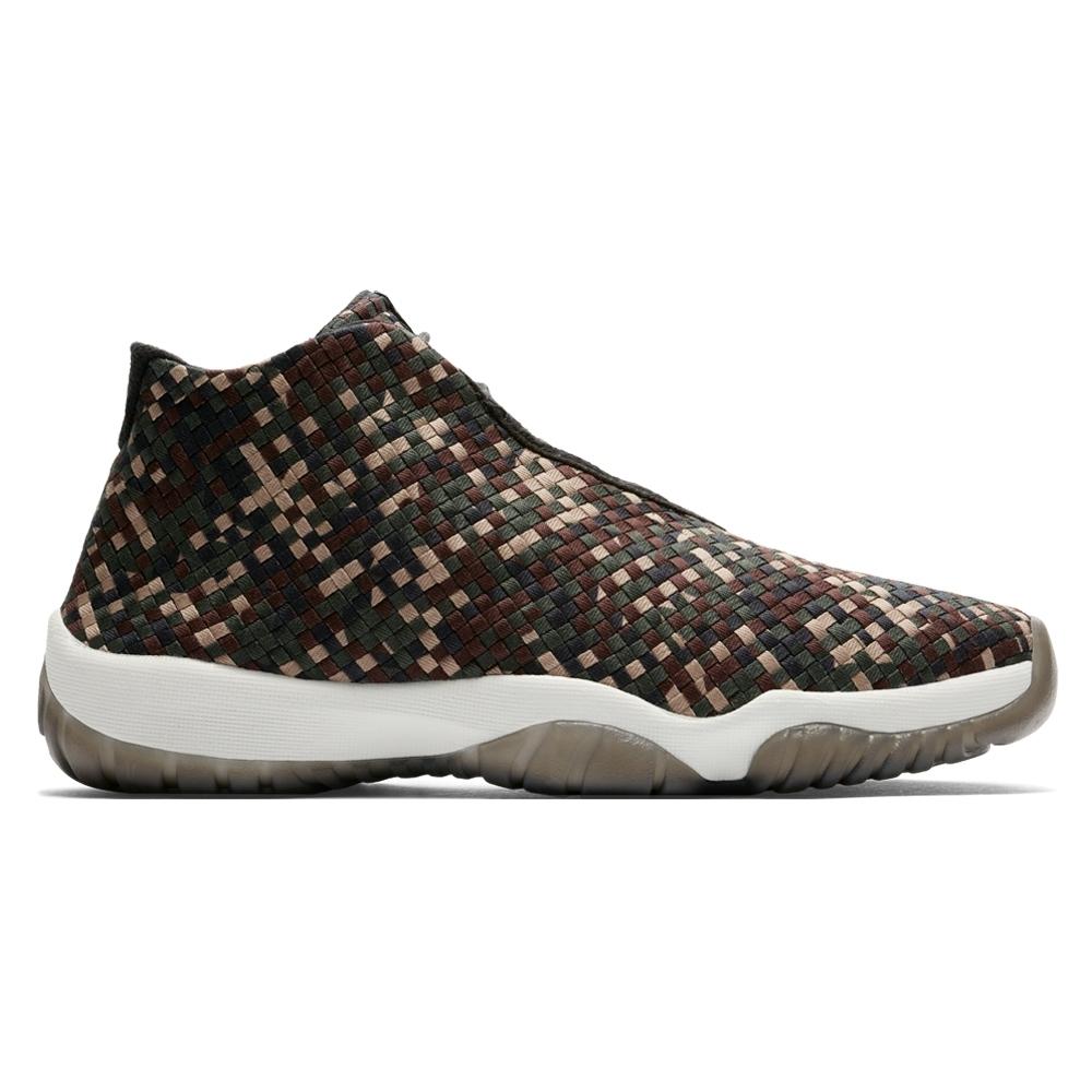 on sale 02bdc 562c8 Jordan Brand Nike Air Jordan Future Premium (Dark Army Sail Black)