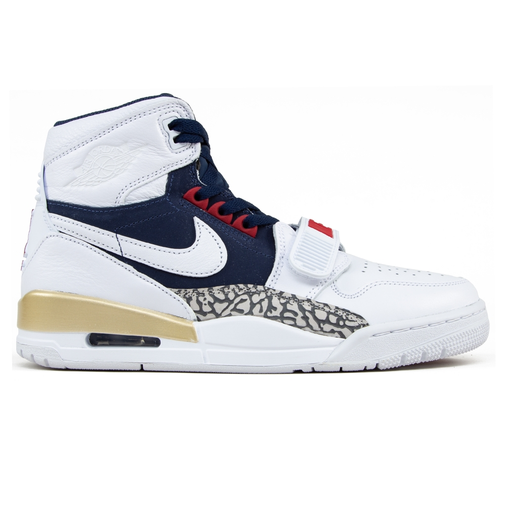 Jordan Brand Nike Air Jordan Legacy 312 'Dream Team' (White/White-Midnight Navy-Varsity Red)