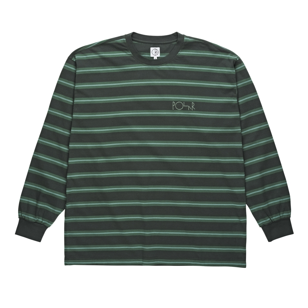 Polar Skate Co. '91 Long Sleeve T-Shirt (Grey Green)