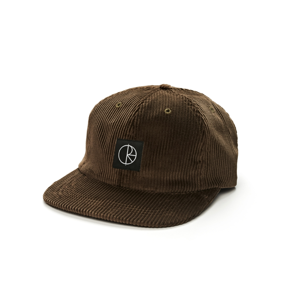 Polar Skate Co. Corduroy Cap (Brown)