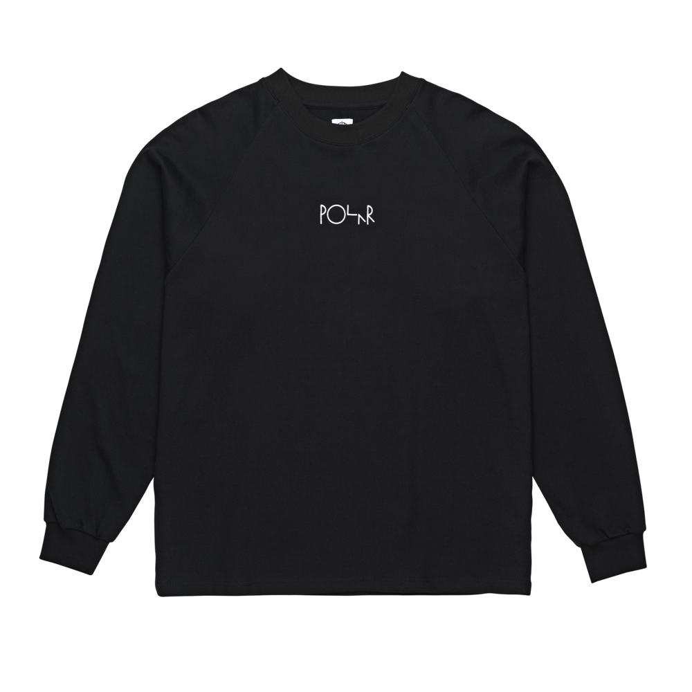 Polar Skate Co. Default Long Sleeve T-Shirt (Black)