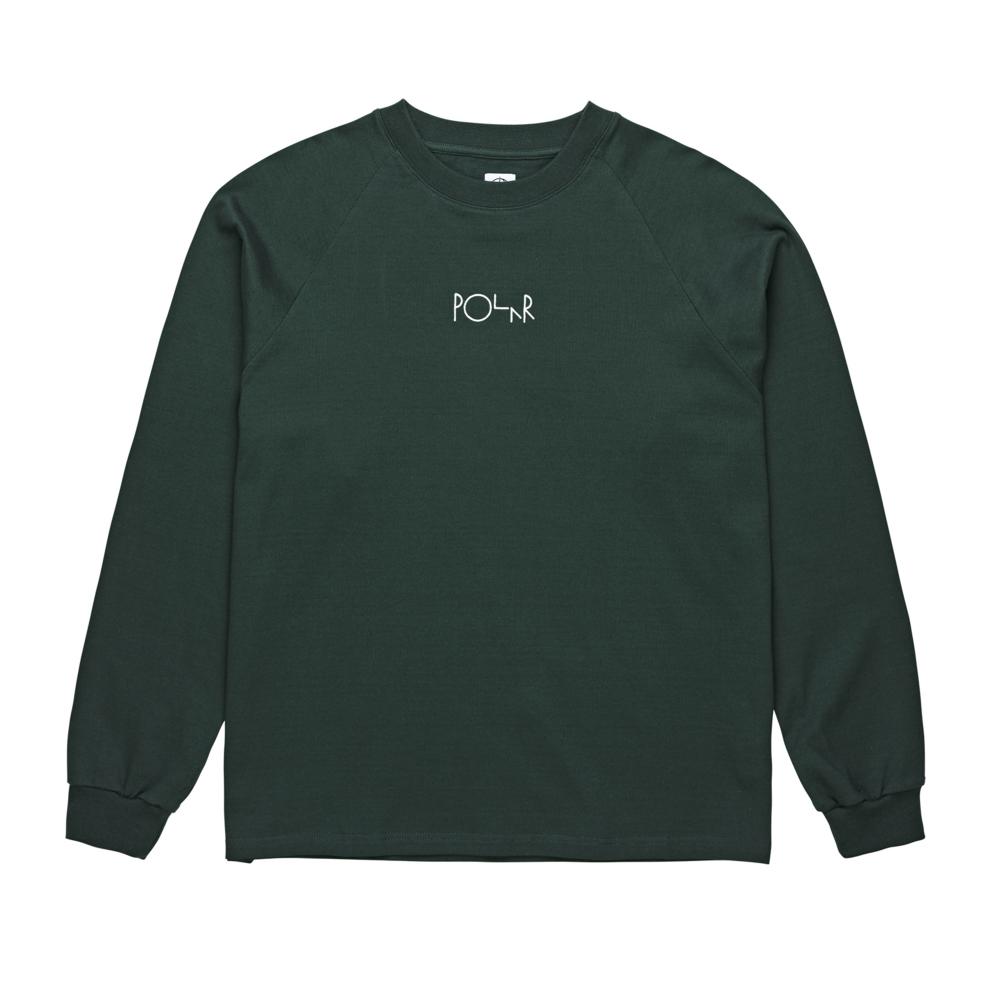 Polar Skate Co. Default Long Sleeve T-Shirt (Dark Green)