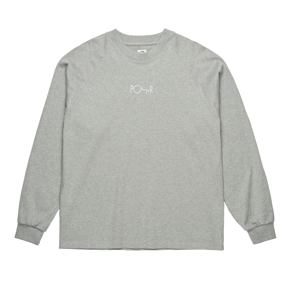 Polar Skate Co. Default Long Sleeve T-Shirt (Heather Grey)