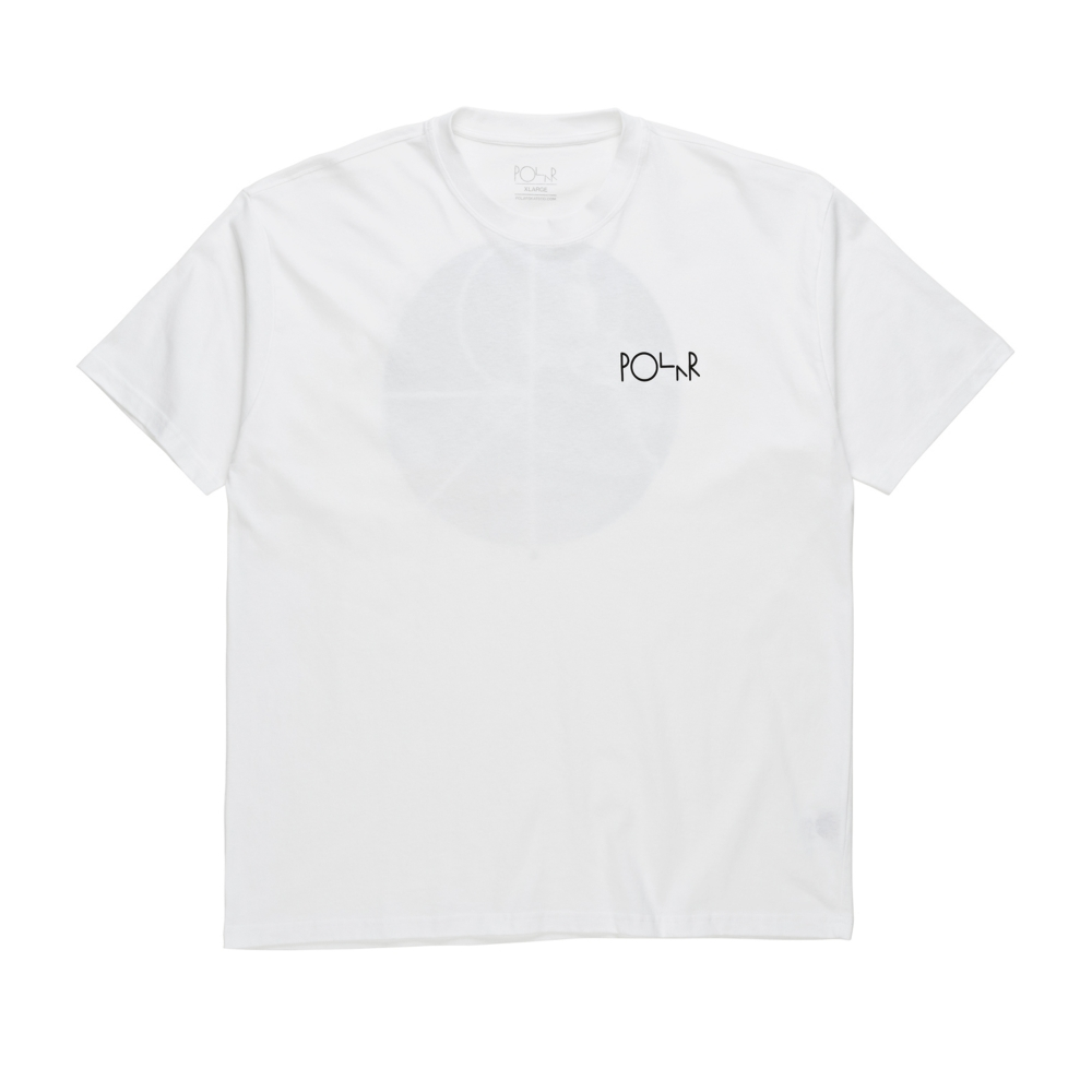 Polar Skate Co. Lambo Life Fill Logo T-Shirt (White)
