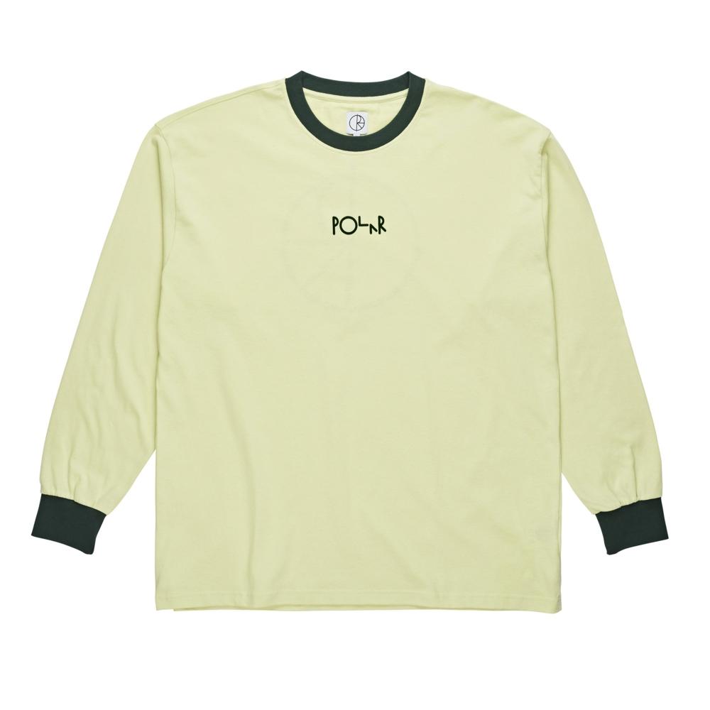 Polar Skate Co. Offside Long Sleeve T-Shirt (Green)