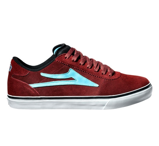 Lakai Manchester Select (Burgundy) - buy Lakai Limited Footwear at ... 04345b0425