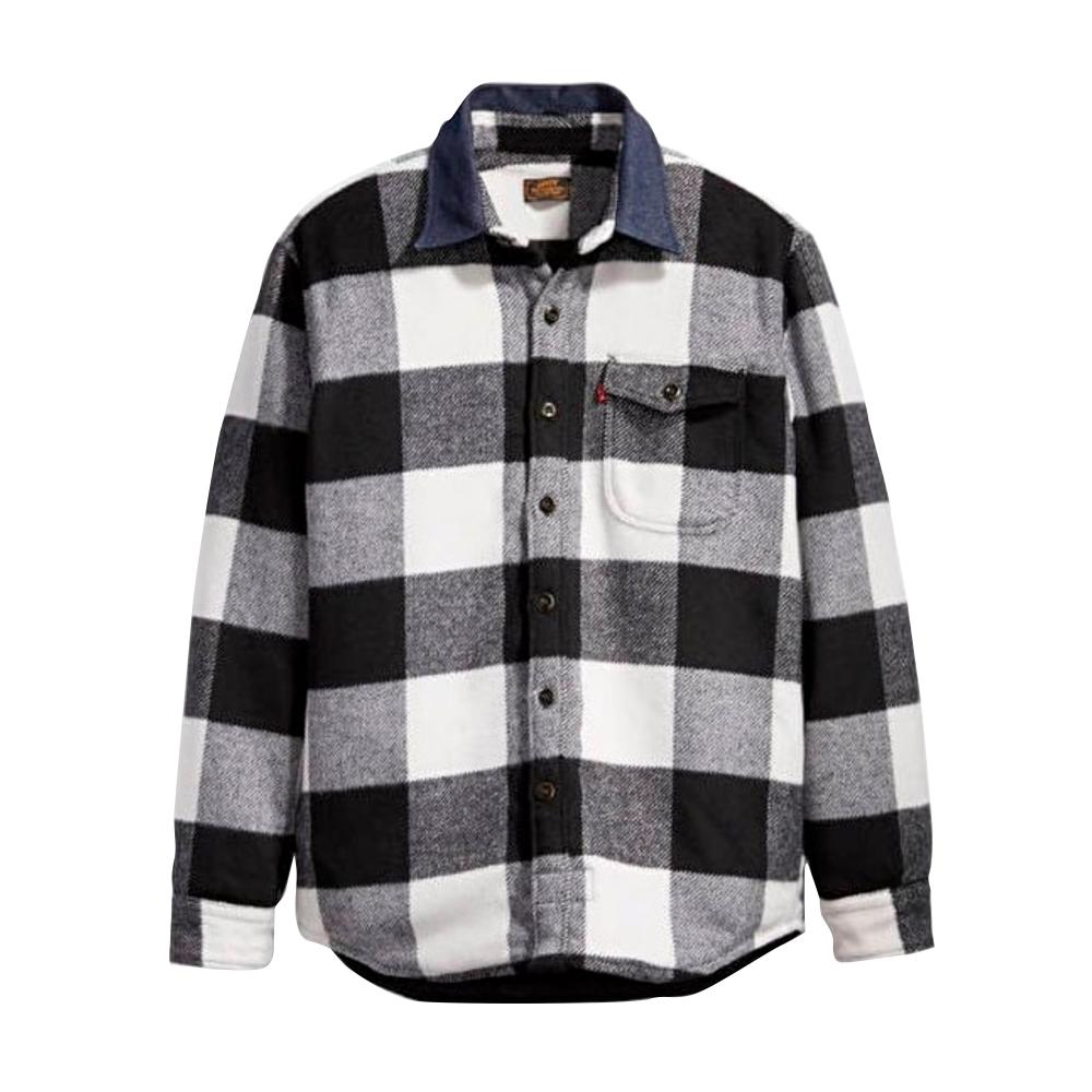 Levi's Skateboarding Quilted Mason Shirt (Manatee Bright White)