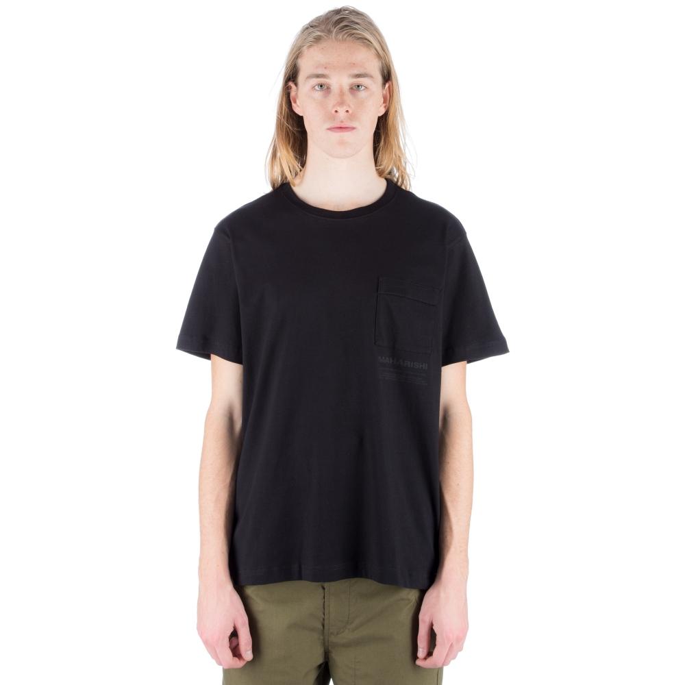Maharishi Miltype T-Shirt (Black)