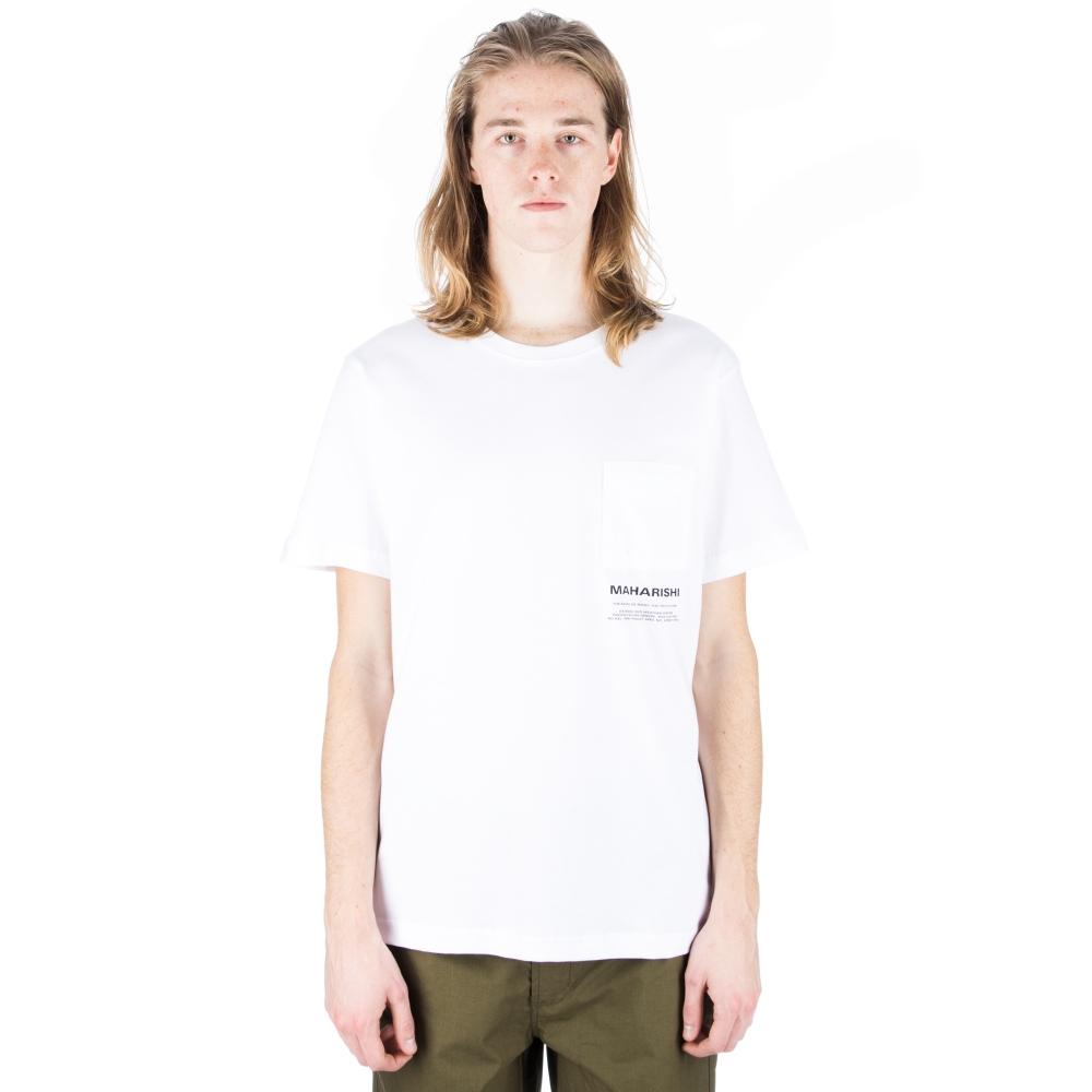 Maharishi Miltype T-Shirt (White)