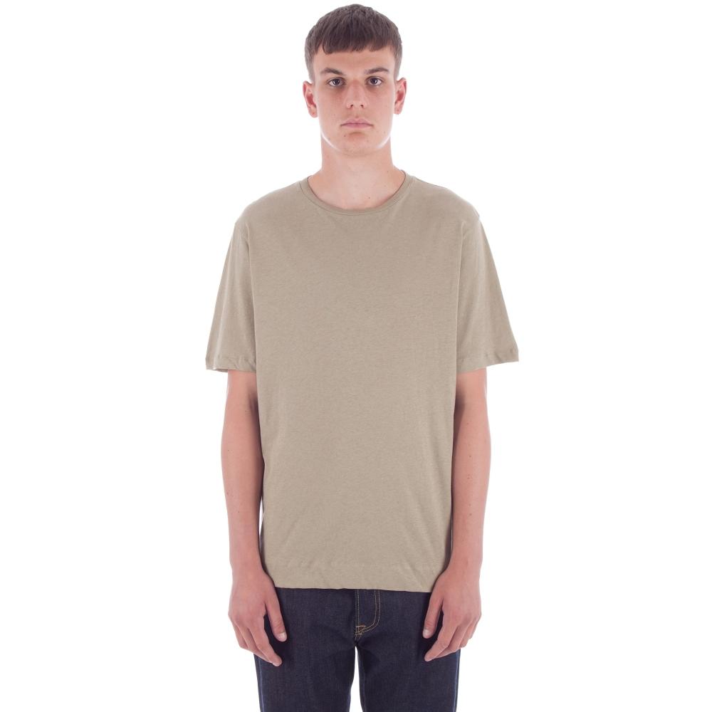 MHL by Margaret Howell Basic T-Shirt (Pale Khaki)