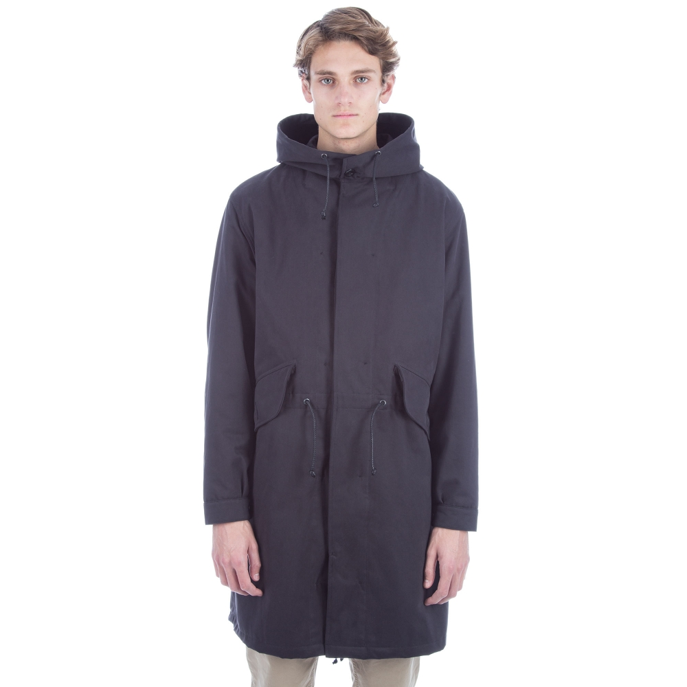 MHL by Margaret Howell Fishtail Parka (Drill Navy)