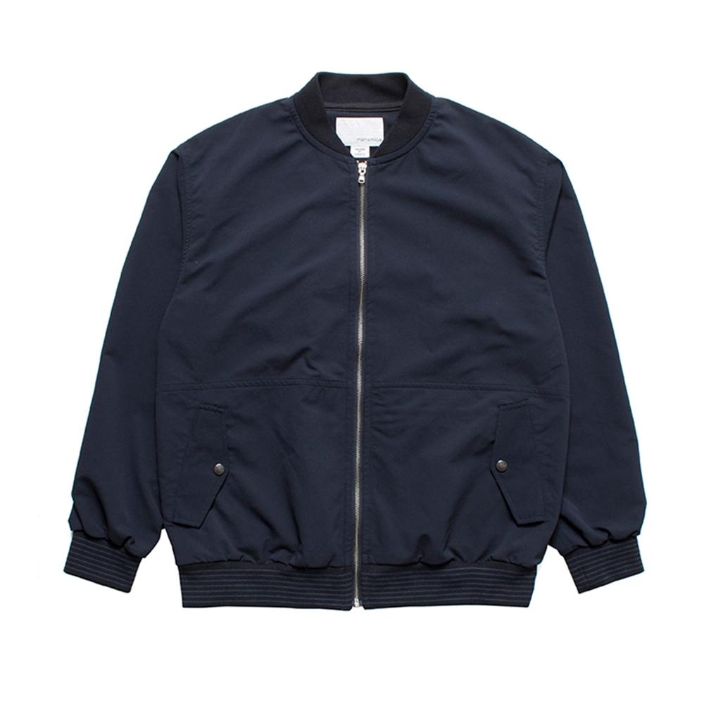 nanamica ALPHADRY Varsity Jacket (Navy)