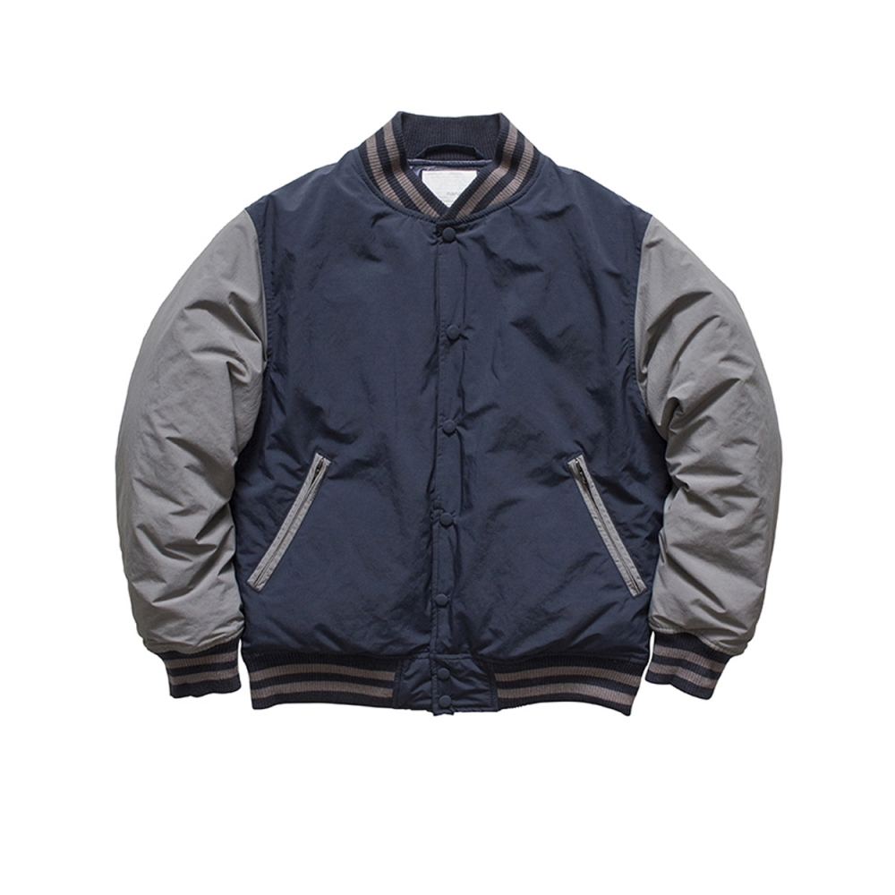 Nanamica Down Varsity Jacket (Navy/Grey)
