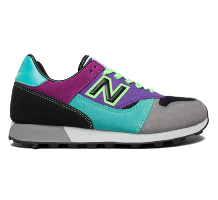 new balance green purple