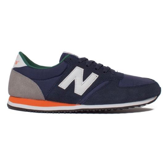 new balance 420 orange and green