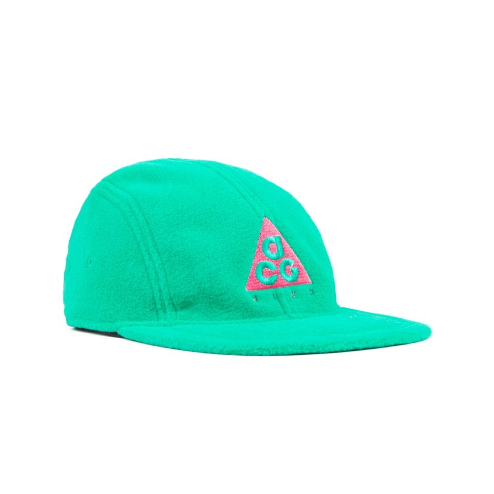 Nike ACG NRG AW84 Fleece Cap (Lucid Green/Rush Pink)