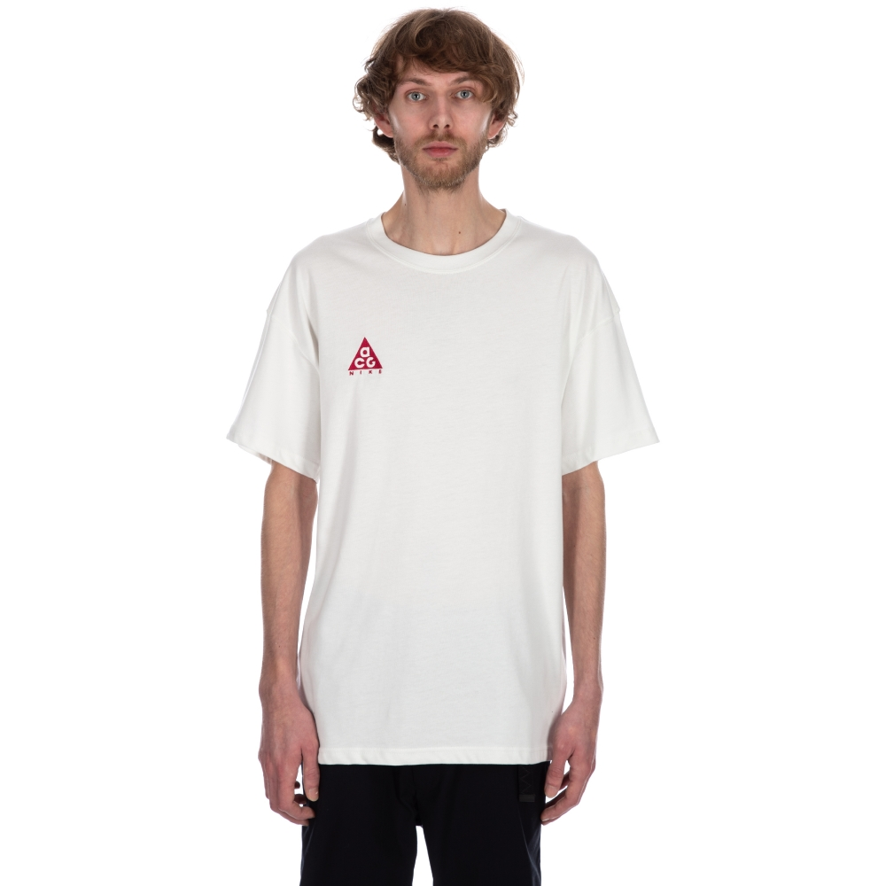 Nike ACG NRG Logo T-Shirt (Summit White/Rush Pink)