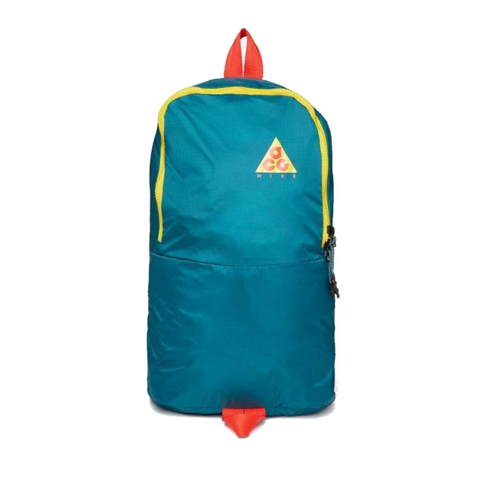 Nike ACG Packable Backpack (Geode Teal/Geode Teal/Habanero Red)