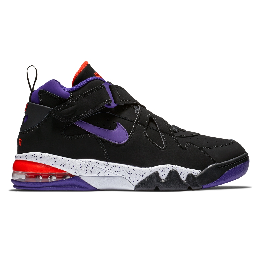 Nike Air Force Max CB 'Suns' (Black/Court Purple-Team Orange-White)