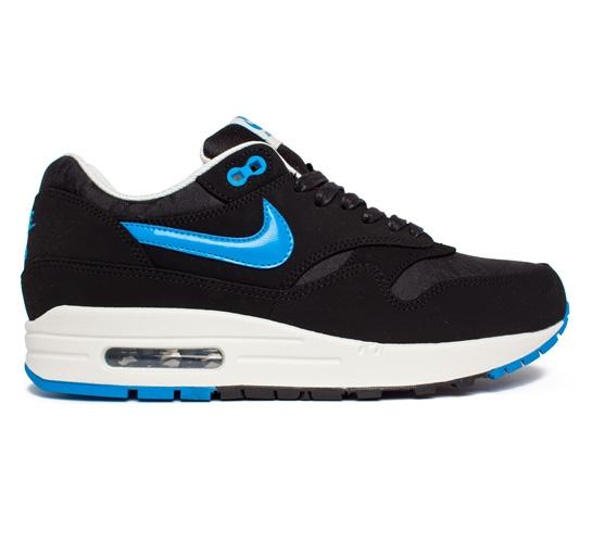 wholesale dealer 5ef94 36322 Nike Air Max 1 Premium (Black Blue Hero-Black-Sail)
