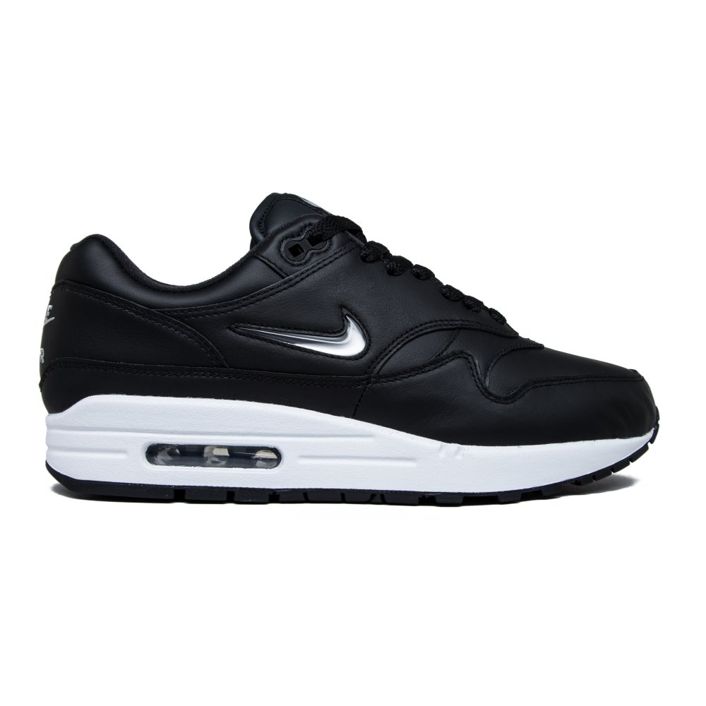 the latest 7ddc3 de8ad Nike Air Max 1 Premium SC Jewel (BlackMetallic Silver-White