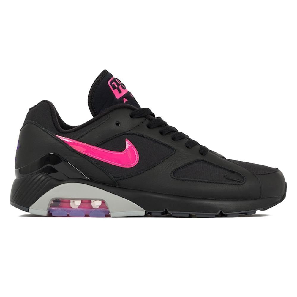 Nike Air Max 180 'Pink Blast' (Black/Pink Blast-Wolf Grey)