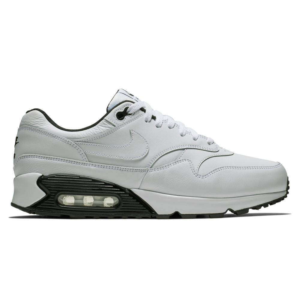 Nike Air Max 90/1 (White/White-Black-Black)